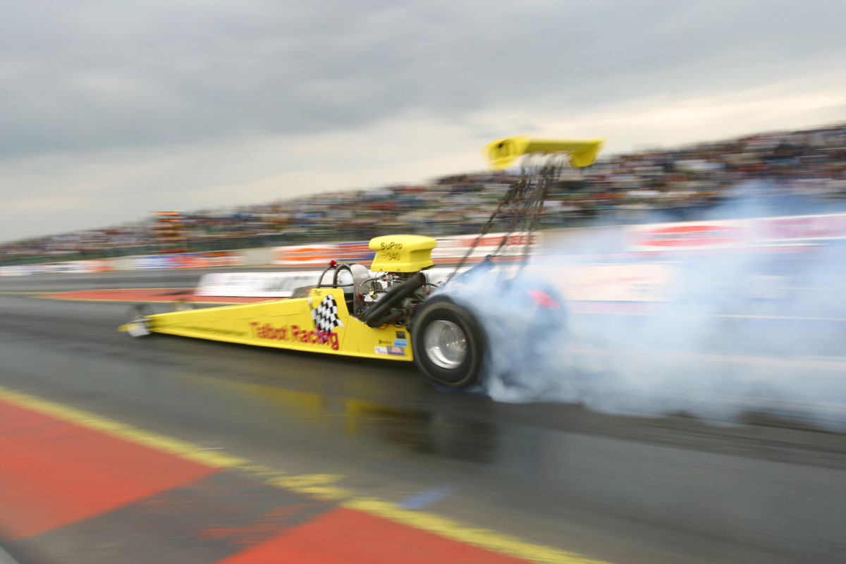 By The Time Car Has Been Towed Around Track Sat In Tarmac Pairing Lanes And Then Fired Up Tyres Are Both Dirty Cold
